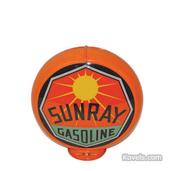 Sunray Gasoline globe
