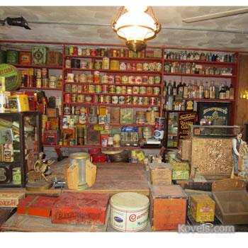 Kovels' basement country store