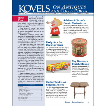 Kovels on Antiques and Collectibles Vol. 41 No. 1