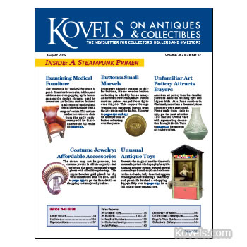 Kovels on Antiques & Collectibles Vol. 41 No. 12
