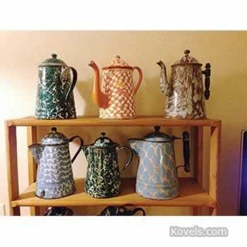 Graniteware coffeepots