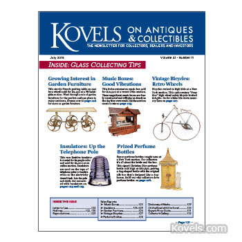 Kovels on Antiques and Collectibles Vol. 41 No. 11