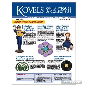 Kovels on Antiques and Collectibles Vol. 41 No. 7