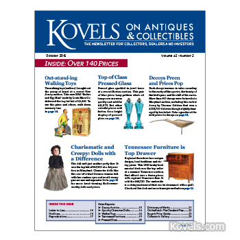 Kovels on Antiques and Collectibles Vol. 42 No. 2