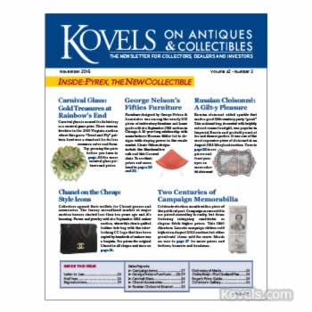 Kovels on Antiques and Collectibes Vol. 42 No. 3