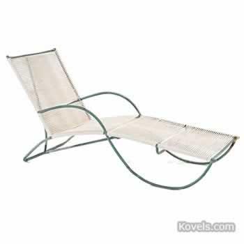 Walter Lamb chaise lounge