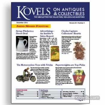 Kovels on Antiques and Collectibles Vol. 43 No. 4 – December 2016