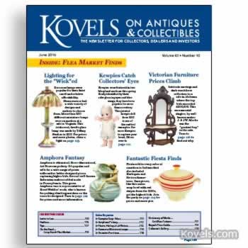 Kovels on Antiques & Collectibles Vol. 42 No. 10