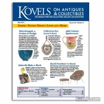 Kovels on Antiques and Collectibles Vol. 42 No. 9 – May 2016
