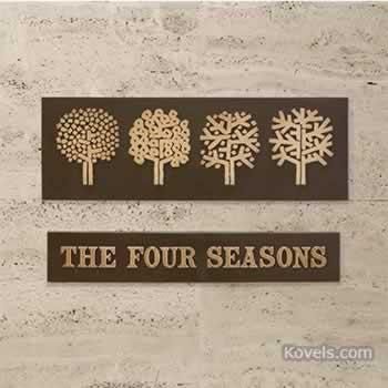 The Four Seasons Restaurant, NYC