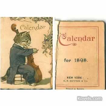 1898 Calendar