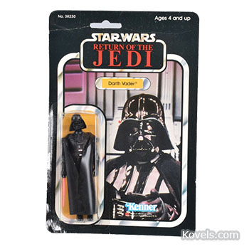 Shocking Prices for Star Wars Figures