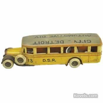 Toy Buses Drive Big Prices
