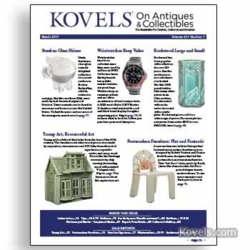 Kovels on Antiques & Collectibles Vol. 43 No. 7 – March 2017