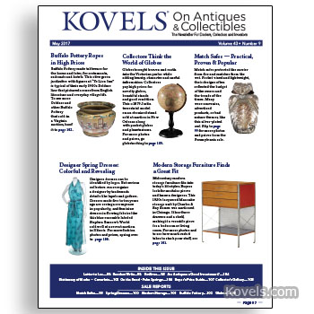 Kovels on Antiques & Collectibles May 2017 Newsletter Available