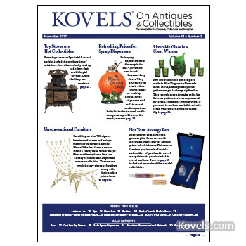 Kovels on Antiques & Collectibles Vol. 44 No. 3 – November 2017