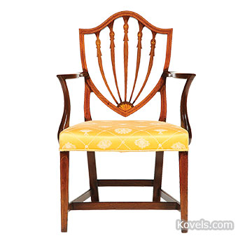 Chair Styles, Part II — Hepplewhite