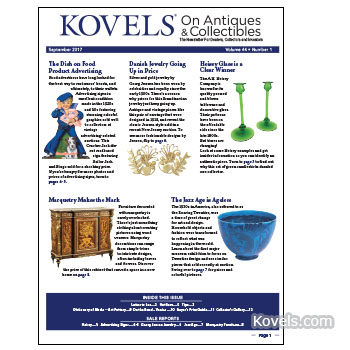 Kovels on Antiques & Collectibles Vol. 44 No. 1 – September 2017