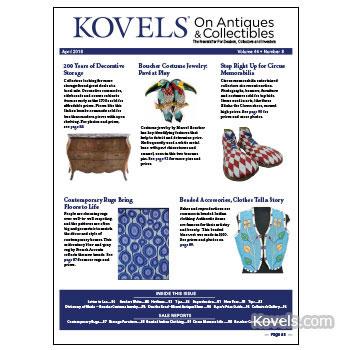 Kovels' April 2018 newsletter
