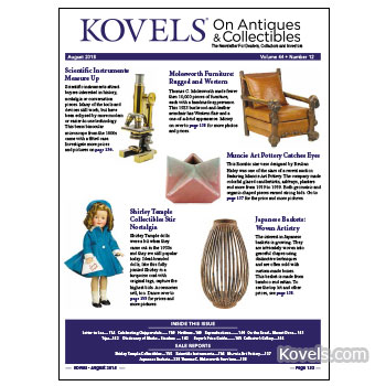 Kovels On Antiques & Collectibles August 2018 Newsletter Available