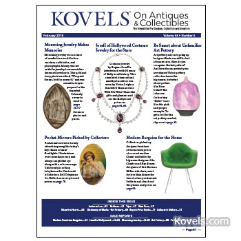 Kovels on Antiques & Collectibles Vol. 44 No. 6 – February 2018
