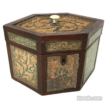 Paper Filigree Tea Caddy