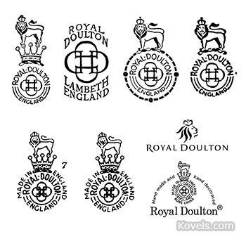 antique royal doulton marks