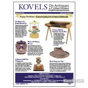 Kovels On Antiques & Collectibles September 2018