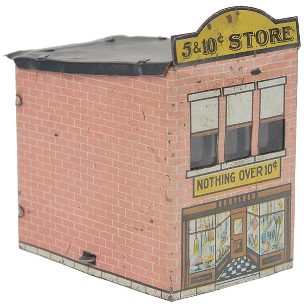 "The Village ""5 & 10 ¢ Store"" candy container"