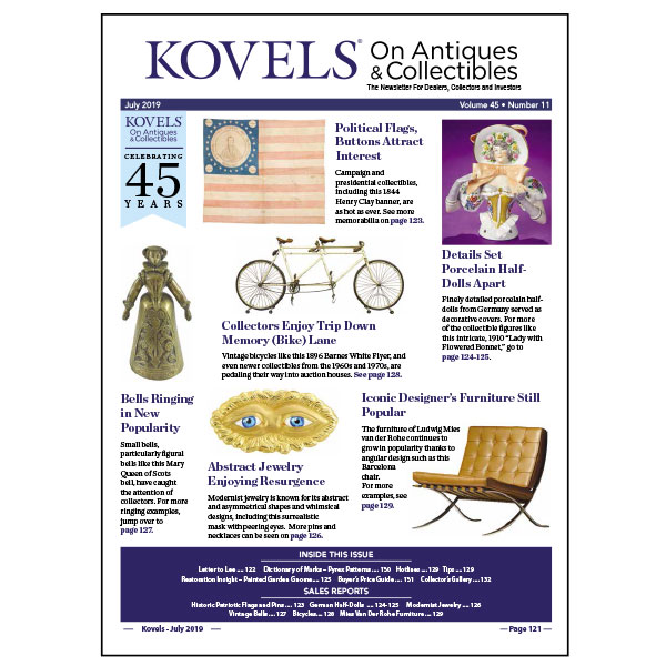 Kovels On Antiques & Collectibles July 2019