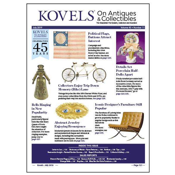 Kovels July 2019 newsletter