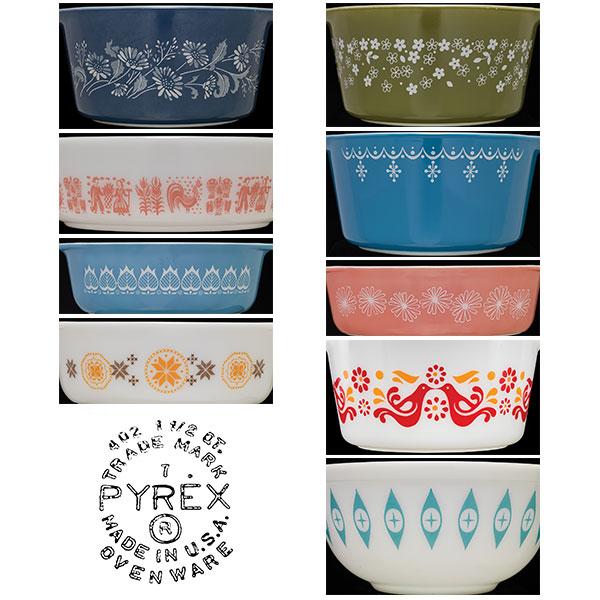 Pyrex patterns