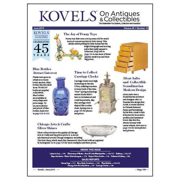 Kovels On Antiques & Collectibles May 2019