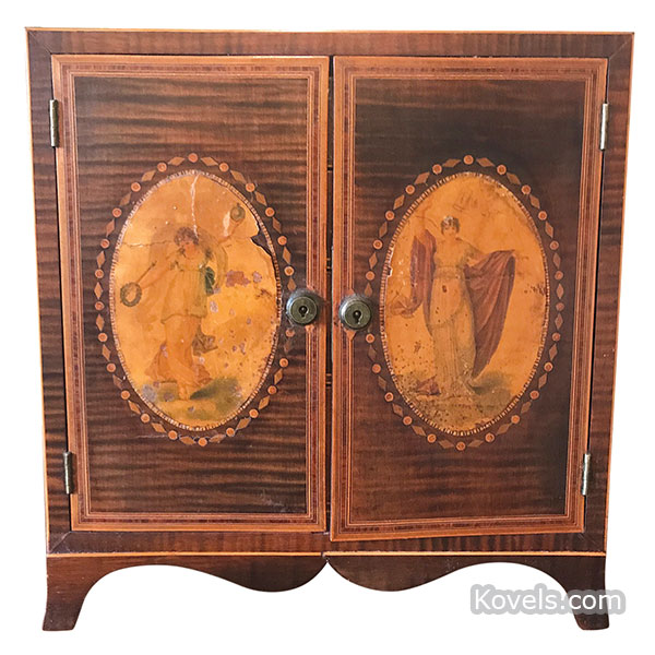Miniature Federal armoire