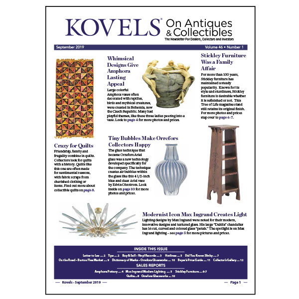 Antique & Collectibles Price Guide | Kovels com