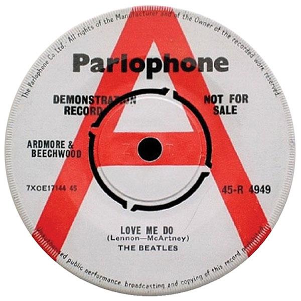 """Love Me Do,"" The Beatles, demo single"