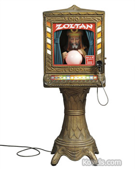 Coin-Operated Fortune Teller, Zoltar