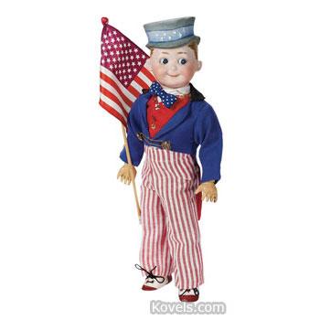 German Uncle Sam doll