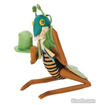 Lenci grasshopper doll