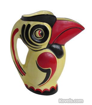 Toucan pitcher