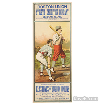 sports,baseball,boston union poster