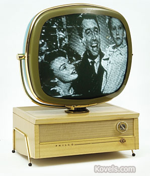 This Philco Predicta television set was introduced in 1959. Today it is a sought-after example of Futuristic design. It sold at a MastroNet auction for $3,580.