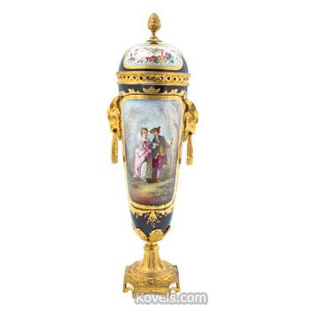 Sevres-style vase
