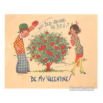 Valentine, 1920s
