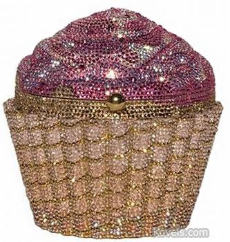 Judith Leiber cupcake purse