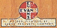 Evans Products Company mark