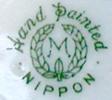 Morimura/ Noritake Wreath Mark