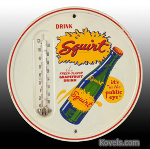 Squirt tin thermometer