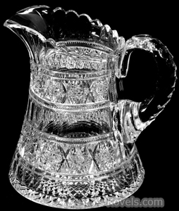 Cut glass pitcher Aberdeen