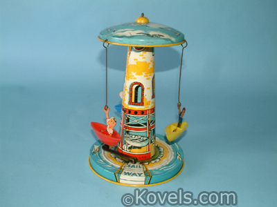 Unique Art Sail Way amusement park toy